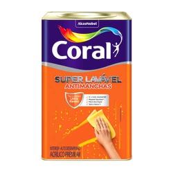 Super Lavável Cor Branco Coral 18L - Casa Costa Tintas