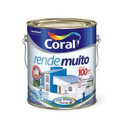 Tinta Acrilica Rende Muito Coral 3,6L - Casa Costa Tintas