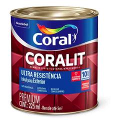 Coralit Ultra Resistencia Alto Brilho 225ML Coral - Casa Costa Tintas