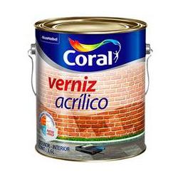 Verniz Acrilico Incolor Coral 3,6l - Casa Costa Tintas