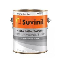 Massa para Madeira Suvinil 5,5kg