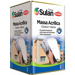 Massa Acrílica 25 KG Sulan - Casa Costa Tintas