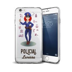 CAPA FLEXIVEL PERSONALIZADA COM NOME POLICIAL RUIV... - Cellway