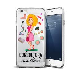 CAPA FLEXIVEL PERSONALIZADA COM NOME CONSULTORA LO... - Cellway