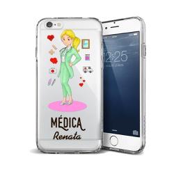CAPA FLEXIVEL PERSONALIZADA COM NOME MEDICA LOIRA ... - Cellway