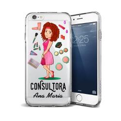 CAPA FLEXIVEL PERSONALIZADA COM NOME CONSULTORA MO... - Cellway