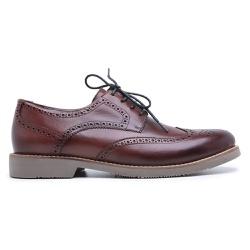 Sapato Brogue Tamanho Especial em Couro - 3095E V... - Centuria Calçados