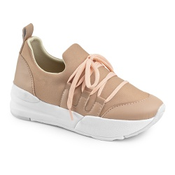 Tenis Casual Charlotte Nude - Charlotte Shoes