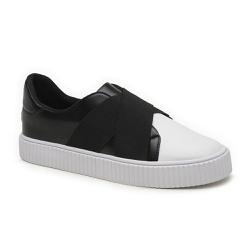 Tênis de Elástico Preto - Charlotte Shoes