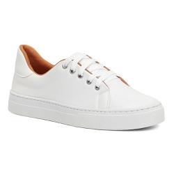 Tênis Branco Casual - Charlotte Shoes