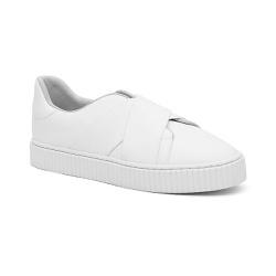 Tênis de Elástico Branco - Charlotte Shoes