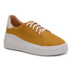Tenis Young Charlotte Amarelo - Charlotte Shoes