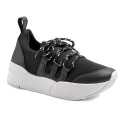 Tênis Casual Charlotte Preto - Charlotte Shoes