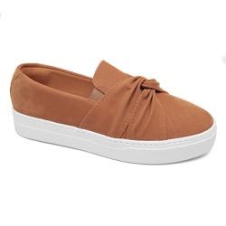 Tênis Slip On Caramelo - Charlotte Shoes