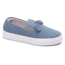 Tênis Slip On Nó Azul - Charlotte Shoes