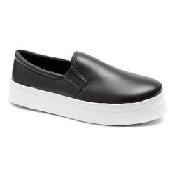 Tênis Casual Plataforma Preto - Charlotte Shoes