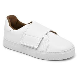 Tênis Velcro Branco - Charlotte Shoes