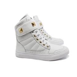 Tênis Sneaker Fitness Feminino Branco - CHEIA DE MARRA