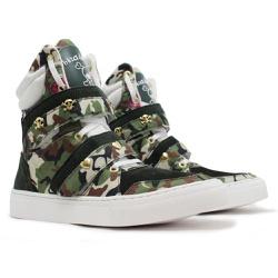 Tênis Sneaker Fitness Feminino Camuflado - CHEIA DE MARRA