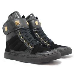Sneaker De Treino Feminino Full Black - CHEIA DE MARRA