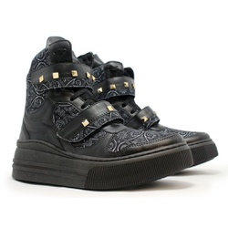 Tênis Sneaker Crossfit Preto - CHEIA DE MARRA