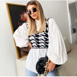 Cropped Pied Poule - cropped-pied-poule - Chemyse