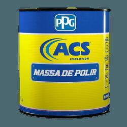 MASSA DE POLIR N.2 BRANCA 900ML ACS PPG - Loja Cidade Das Tintas