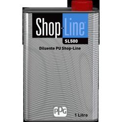 SL500 DILUENTE PU 1L SHOP LINE PPG - Loja Cidade Das Tintas