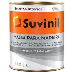 MASSA PARA MADERIA 3,6L SUVINIL - Loja Cidade Das Tintas