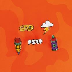 Kit com 5 Pins Criatividade