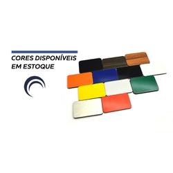 Kit Personalizado de chapas de acm Preto Brilho - COBERCHAPAS