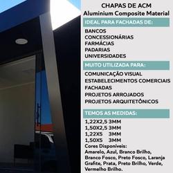 Chapa De Acm Várias Cores 3mm 150 x 500 Coberchapas - COBERCHAPAS