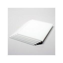 Acrílico Cast ( Virgem ) Branco Leitoso 3mmx2,00x1,00 - COBERCHAPAS