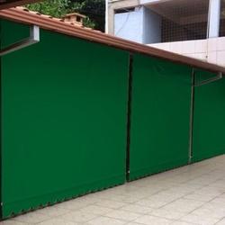 Toldo Cortina 2,00m x 2,75m - Verde - COBERCHAPAS