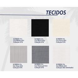 Tecido Sunscreen 5% várias cores - COBERCHAPAS