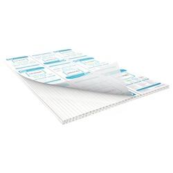 Chapa De Policarbonato Alveolar Branco 2,10x6,00 6 Milímetros - COBERCHAPAS