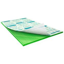 Chapa De Policarbonato Alveolar Verde 2,10x6,00 6 Milímetros - COBERCHAPAS
