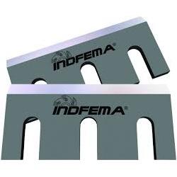 Facas para Desengrosso 400 x 75 x 9mm - INDFEMA-50... - CONEXAOFERRAMENTAS