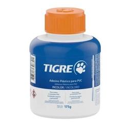 Adesivo Plástico Para PVC 175g / Com Pincel - Tigr... - Sertãozinho Construlider