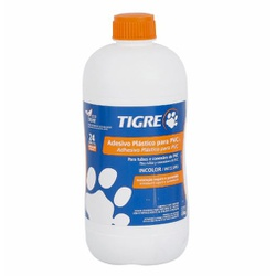 Adesivo Plástico Para PVC 850g / Com Pincel - Tigr... - Sertãozinho Construlider