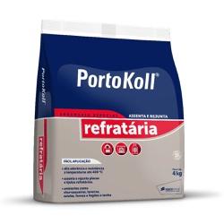 Argamassa Refratária 4Kg - PortoKoll - Sertãozinho Construlider