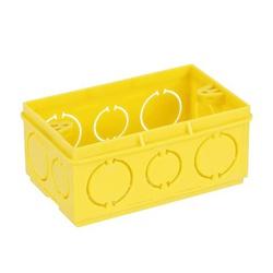 Caixa De Luz 4X2 Retangular Amarela - ADTEX - Sertãozinho Construlider