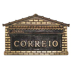 Caixa De Correio Ouro Nº2 1 Tijolo 31cmX16cmX20cm ... - Sertãozinho Construlider