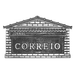 Caixa De Correio Prata Nº2 1 Tijolo 31cmX16cmX20cm... - Sertãozinho Construlider