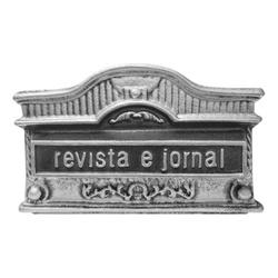 Caixa De Correio Muro Prata Nº5 31cmX16cmX20cm - F... - Sertãozinho Construlider