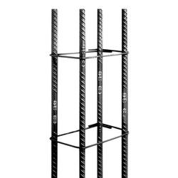 Coluna de Aço 7x14cm 6m - 8mm (5/16) - Sertãozinho Construlider