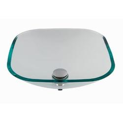 Cuba De Apoio Em Vidro Cristal 36cmX36cm - Astra - Sertãozinho Construlider