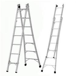 Escada Extensiva de Alumínio - 8 e 10 Degraus - Sertãozinho Construlider