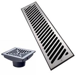 Ralo Grelha De Alumínio Com Caixa Coletora (Divers... - Sertãozinho Construlider