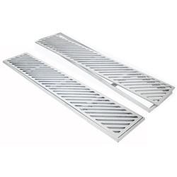 Ralo Grelha De Alumínio Com Aro De Fixação (Divers... - Sertãozinho Construlider